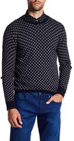 Scotch & Soda Dot Crew Neck Pullover