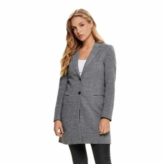 Only Women's Coat. - Grey - X-Large