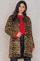Just Female Leo Fake Fur Coat