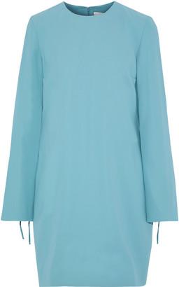 Victoria Victoria Beckham Tie-detailed Crepe Mini Dress