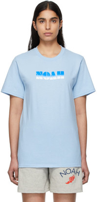 Noah NYC Blue Gradient Logo T-Shirt
