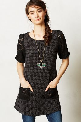 Anthropologie Laced Gradient Tunic