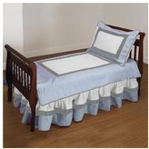 Baby Doll Bedding Classic II Toddler Bedding Set - Blue