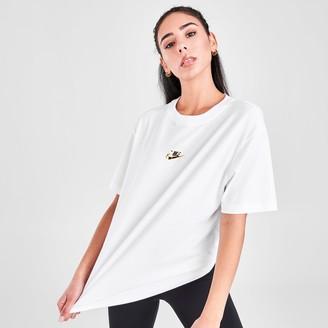 Nike Women's Sportswear Shine Boyfriend T-Shirt