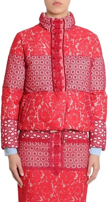 Boutique Moschino Belted Patchwork Coat