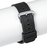 Speidel Rubber Replacement Watch Strap 18MM - Black