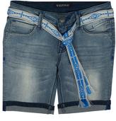 Vigoss Blade Belted Bermuda Shorts - Girls