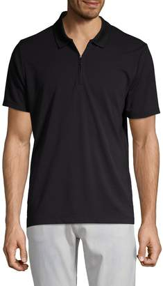 Perry Ellis Classic Short-Sleeve Polo