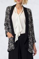 Double Zero Leopard Open Jacket
