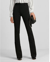 Express High Waisted Stretch+ Performance Flare Pant