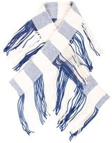 Burberry Wool Fringed Scarf
