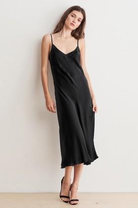 Velvet by Graham & Spencer Brienne Satin Viscose Cami Dress