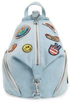 Rebecca Minkoff Medium Julian Patchwork Backpack - Blue