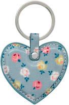 Cath Kidston Lucky Rose Heart Key Fob