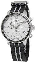 Tissot Men's T0954171703707 Quickster Analog Swiss Quartz Black Watch