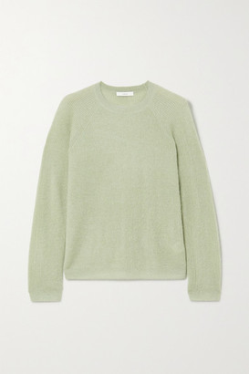 Vince Ribbed-knit Sweater - Sage green