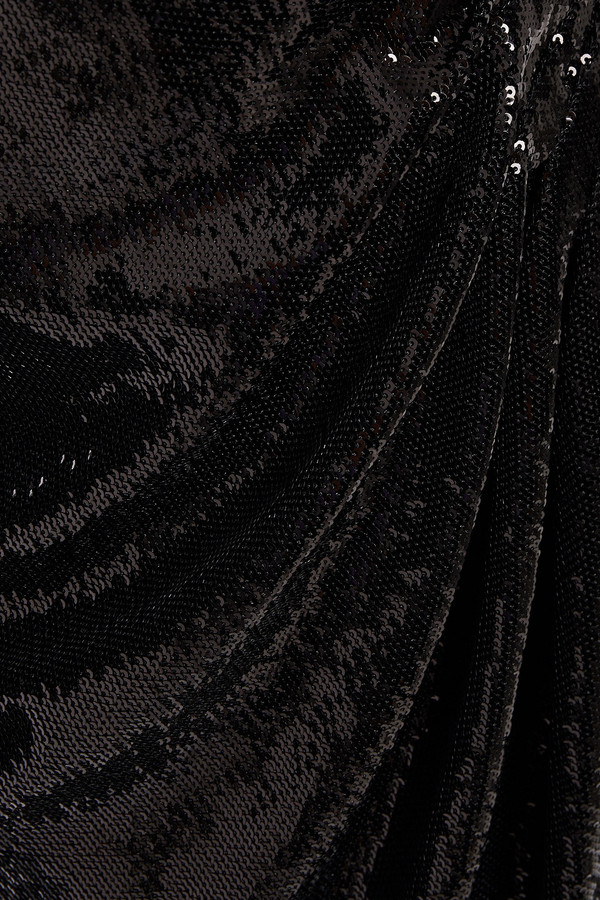 Thumbnail for your product : Maje Rivy Sequined Tulle Mini Wrap Dress