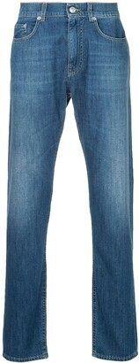 Cerruti Five-Pocket Design Regular Jeans
