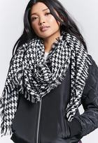 Forever 21 Houndstooth Woven Scarf