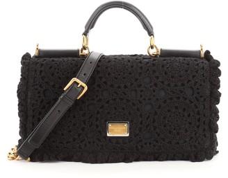 Dolce & Gabbana Miss Sicily Bag Crochet East West
