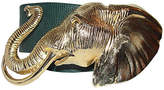 One Kings Lane Vintage Accessocraft NYC Gold Elephant Belt