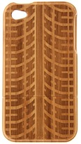 w rkin stiffs - Bamboo Tire Tracks Phone Cover for iPhone 4/4S (Tire Tracks) - Bags and Luggage