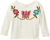 Mimi & Maggie Butterfly Tapestry Top (Toddler Girls)