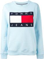 Tommy Jeans logo patch sweatshirt