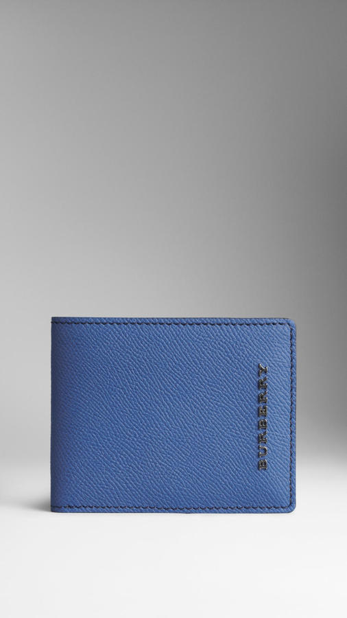 Burberry Colour Coated London Leather Wallet