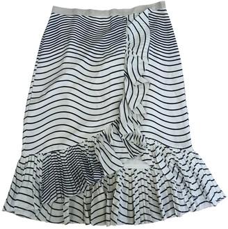 Tory Burch Ecru Silk Skirt for Women