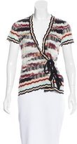 Missoni Wool Wrap Top