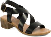 Pierre Dumas Black Beril Sandal