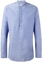 E. Tautz grandad collar shirt