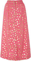 Manoush High Waisted Midi Skirt