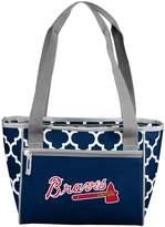 Logo Brand Atlanta Braves 16-Can Cooler Tote