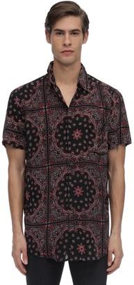 The People Vs Stevie Bandana Printed Rayon Shirt