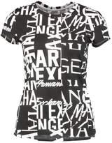 Armani Exchange Print Tshirt black