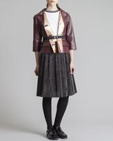 Marni Knee-Length Circle Skirt, Coal
