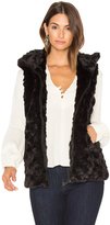 David Lerner Caroline Faux Fur Vest
