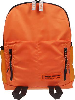 Heron Preston Backpack Round Zip