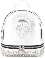 Philipp Plein mini Cornelia backpack - women - Calf Leather/Polyester - One Size