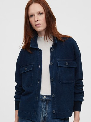 Gap Workforce Collection French Terry Utility Jacket