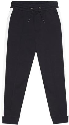 Emporio Armani Kids Cotton-blend trackpants