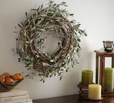 Pottery Barn Harvest Olive Wreath