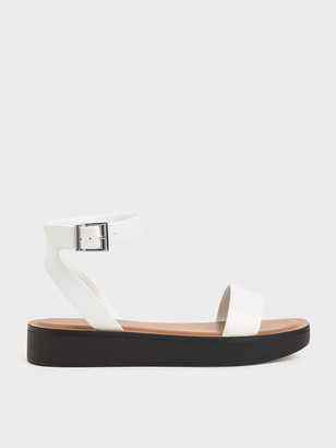 Charles & Keith Ankle Strap Platform Sandals