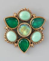 Stephen Dweck Multi-Stone Pin