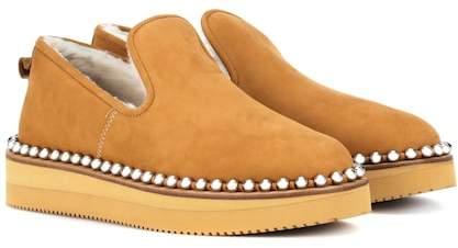 Alexander Wang Tedi shearling-lined slippers