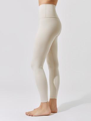 Beyond Yoga Heather Rib High Waisted Midi Legging