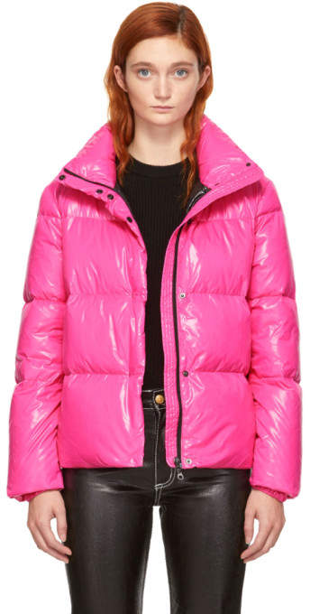 Duvetica Pink Down Alane Jacket