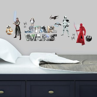 Room Mates Star Wars VIII Peel and Stick Wall Decals